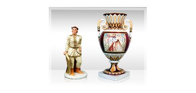 """VITBER art & antiques"" Latvian porcelain exhibition"