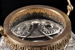 candy-bowl, silver, 800 standart, silver stamping, the beginning of the 20th cent., (item's weight)...