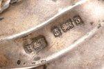 letter knife, silver, 925 standart, 1901, 58.15 g, (item total weight)g, by Hilliard & Thomason, Bir...