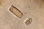 "портсигар, серебро, 875 проба, ""Витязь"", чеканка, 20-е годы 20го века, 162.45 г, Латвия, 10.4 x 8 x..."