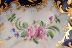 чайная пара, фарфор, завод Братьев Корниловых, Российская империя, 1840-1861 г., (блюдце) Ø 14.7 см,...