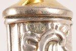 лопатка для торта, серебро, металл, 875 проба, 20-е годы 20го века, (вес изделия) 111.90 г, Латвия,...