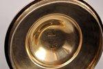 mug, silver, 84 standart, engraving, 1870, 146.15 g, by Michael Karpinsky, Moscow, Russia, Ø 6.7 cm,...