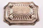 sālstrauks, sudrabs, 84 prove, 1847 g., 22.95 g, Maskava, Krievijas impērija, 7.9 x 5.6 x 2.2 cm...