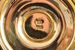 alus kauss, sudrabs, 84 prove, apzeltījums, māksliniecisks gravējums, 1882 g., 436 g, meistars Ikoņņ...