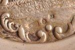 конфетница, серебро, 875 проба, 30-е годы 20го века, 151.85 г, мастер Людвиг Розенталь, Рига, Латвия...