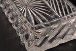 lādīte, sudrabs, 84 prove, stikls, 1880-1890 g., sudraba svars 285.85g, N. Jaņičkina darbnīca, Santk...
