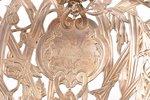 biscuit tray, silver, 950 standart, 1853-1880, ~1500 g, Émile Hugo, Paris, France, 35.8 x 27.4 cm, s...