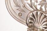 лопатка для торта, серебро, 950 проба, 19-й век, 154.85 г, Париж, Франция, 33.5 см...