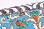 etvija, sudrabs, 84 prove, starpsienu emalja, 1880-1890 g., 195.95 g, Dmitrija Jegorova darbnīca, Kr...