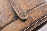 glāzes turētājs, sudrabs, 84 prove, jūgendstils, māksliniecisks gravējums, 1908-1917 g., 117.10 g, S...