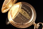 "pocket watch, ""Omega"", Switzerland, the beginning of the 20th cent., gold, 56, 14 K standart, 72.20..."