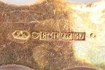galda piederumu komplekts, sudrabs, 813 H prove, 2 gab., 124.50 g, Somija, 22.7 / 20.5 cm...