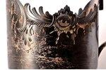 подстаканник, серебро, 84 проба, штихельная резьба, 1899-1908 г., 99.25 г, мастер И.Прокофьев, Москв...