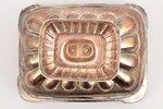 конфетница, серебро, 84 проба, золочение, 1818-1864 г., 332.60 г, С.- Петербург, Российская империя,...