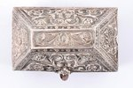 case, silver, 916 standart, the beginning of the 20th cent., 188.55 g, Great Britain, 10.7 x 6.9 x 8...