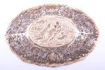 card tray, silver, 830 standart, 1932, 98.55 g, Helsinki, Finland, 17.3 x 11.9 cm...