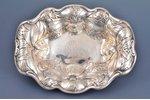 set, tray, spoon, silver, 925 standart, 269.85 g, L. W. Vilsack & Co, USA, 21.1 x 15.7, 22 cm...