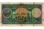 500 lats, banknote, 1929, Latvia, F...