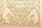 "Густав Лебон, ""Психология народов и масс"", BOOK OWNER'S SIGNATURE - ANDRIEVS NIEDRA, AND EX-LIBRIS (..."