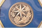 100 dollars, 1979, gold, Belize, 6.21 g, Proof, 500 standard...