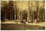 photography, Rīga, Mežaparks (on cardboard), Latvia, Russia, the border of the 19th and the 20th cen...