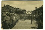 photography, on cardboard, Kerensky's visit to Riga. Railway Station, June 6, 1917, Latvia, Russia,...