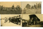 photography, 12 pcs., 1. Latvian (Troitsk) Rifle Battalion, Latvia, beginning of 20th cent., 13,8x8,...