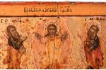 icon, Transfiguration of Jesus, board, silver, painting, guilding, 84 standart, Russia, 1798, 10.6 x...