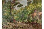 "Ubans Konrads  (1893-1981), ""Pērse"", 1952, carton, oil, 54 x 74 cm..."