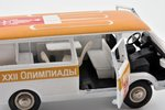 """car model, RAF 2203, """"Olympic games 1980 in Moscow"""", conversion, metal, USSR..."""