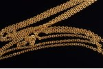 a chain, gold, 12.90 g., the item's dimensions 44 cm, Finland...