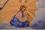 icon, Saint Alexander Nevsky, board, painting, gold leafy, Russia, 22.5 x 17.5 x 1.8 cm...