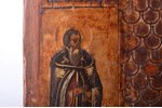 icon, Beheading of St. John the Baptist, board, painting, guilding, Russia, 30.4 x 25.9 x 2.4 cm...