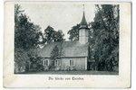 atklātne, Turaidas baznīca, Latvija, Krievijas impērija, 20. gs. sākums, 14x9,5 cm...