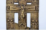 cross, The Crucifixion of Christ, copper alloy, Russia, the 19th cent., 25.8 x 12.4 x 0.3 cm, 414.95...