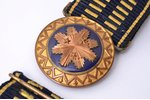officer's belt, Latvian Army, lenghth 107 cm, Latvia, the 20-30ties of 20th cent....