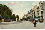 photography, Riga, Elizabetes street, Latvia, Russia, beginning of 20th cent., 8.7 x 13.7 cm...