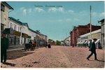 atklātne, Tambova, Nosovskaja iela, Krievijas impērija, 20. gs. sākums, 13.8x8.8 cm...