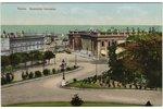 открытка, Одесса, Биржевая площадь, Российская империя, 8,8 x 13,9 см...