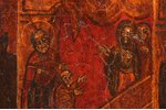 icon, Saint Nicholas the Miracle-Worker, board, silver, painting, 84 standart, Dmitry Ivanovich Orlo...