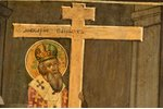 icon, The Exaltation of the Holy Cross, consist of two parts, board, painting, Russia, the 2nd half...