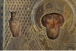"""icon, Mother of God """"Consolation in Afflictions and Sorrows"""", silver, painting, 84 standart, Russia,..."""