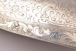 pair of spoons, silver, 84 standart, engraving, 1860, total weight of items 104.20g, Kostroma, Russi...