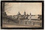 К. Франке, город Котельнич, 1915 г., бумага, графика, 16.4 x 25.7 см, на картоне...