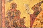 icon, Mother of God Joy of All Who Sorrow, board, painting, guilding, Russia, 44.4 x 37 x 2.8 cm...