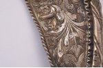 a wreath, from icon oklad, silver, engraving, Russia, 1795, 12.3 x 13.3 cm, 69.90 g., Moscow...