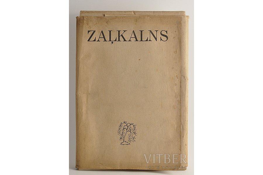 """Teodors Zaļkalns.48 attēli"", 1943 г., Apgāds zelta ābele"