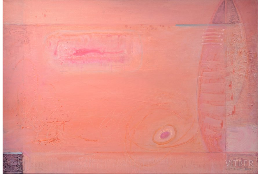"Nikolay Krivoshein (1960), ""Sweet Life"", 2012, canvas, acrylic, 75 x 110 cm"