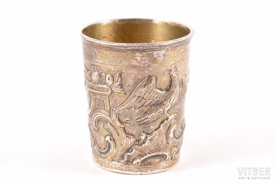 glāze, sudrabs, ciļņošana, 1796 g., 97.70 g, Maskava, Krievijas impērija, 7.9 cm